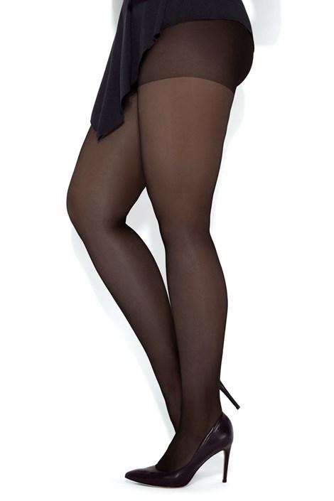 MONA Punčochové kalhoty pro plnější tvary Viola 20 DEN nero 6