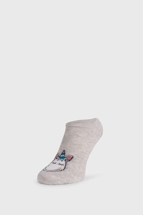 Wola Dívčí ponožky Jednorožec šedá 36-38