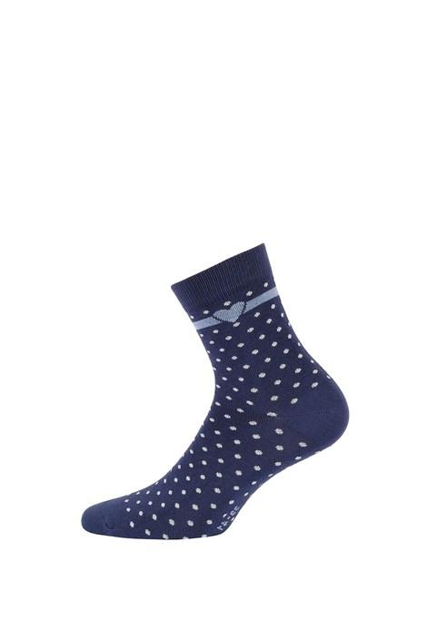 Wola Dětské ponožky Tečky tmavěmodrá 33-35