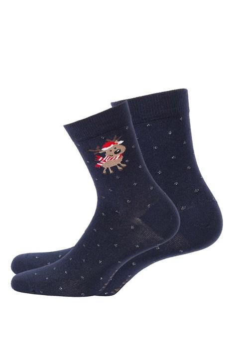 Wola Dětské vzorované ponožky 997 modrá 36-38