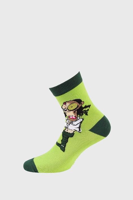 Wola Dětské ponožky Mumie zelená 39-41