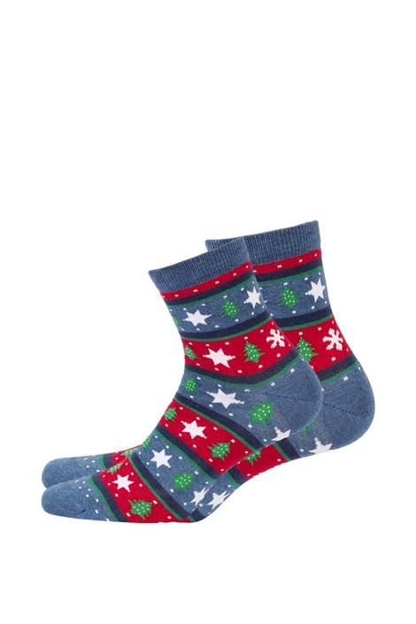 Wola Dámské vzorované ponožky 987 jeans 39-41