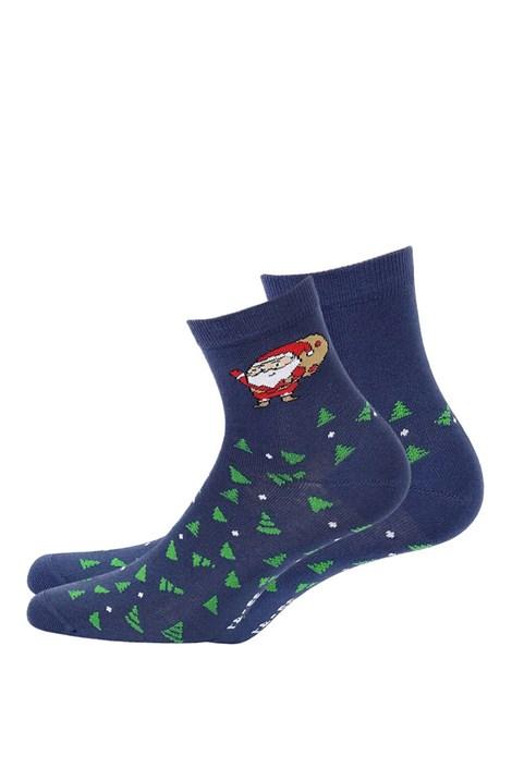 Wola Dámské vzorované ponožky 995 modrá 39-41
