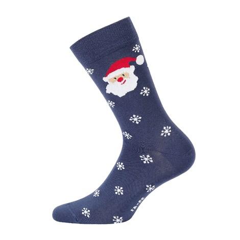 Wola Pánské vzorované ponožky 971 modrá 45-47