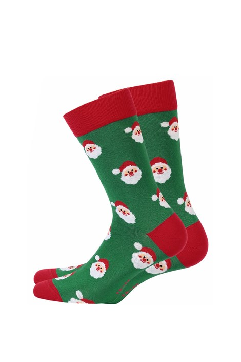 Wola Pánské vzorované ponožky 994 zelená 45-47