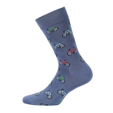 Wola Pánské ponožky vzorované 559 jeans 45-47