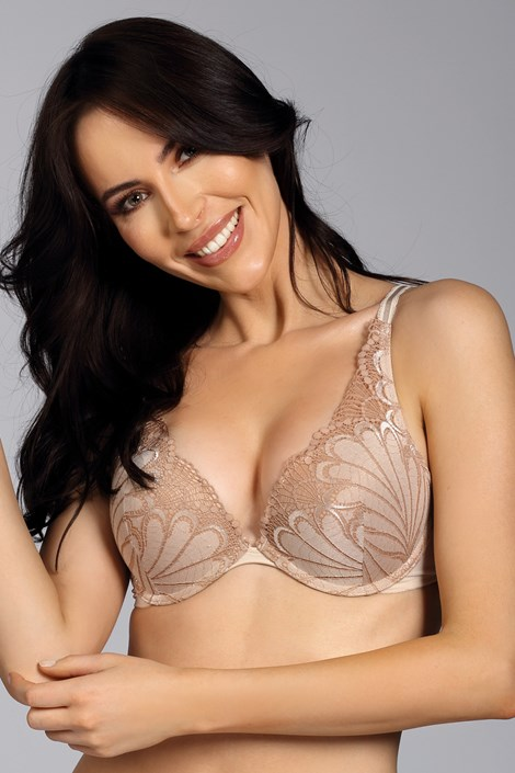 Sutien Wonderbra Triangel Double Push-Up Ivory
