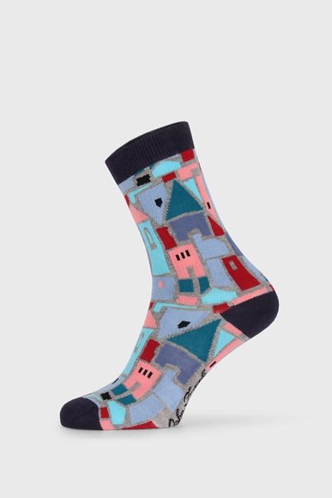 John Frank Dámské ponožky Fun House barevná 36-40