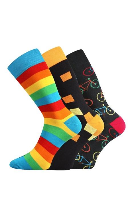 Lonka 3 pack pánských ponožek Benny barevná 43-46