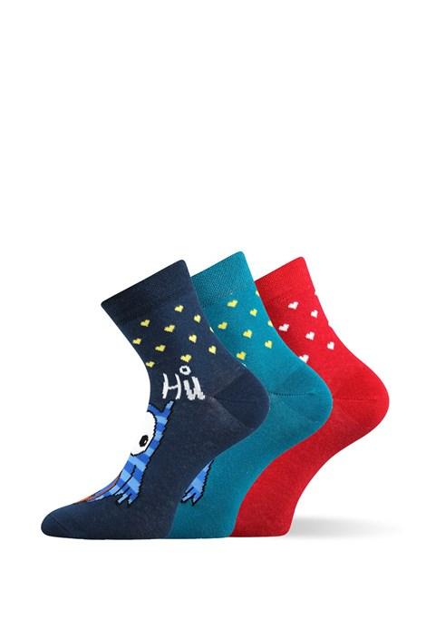 Lonka 3pack veselých ponožek Xantipa barevná 39-42