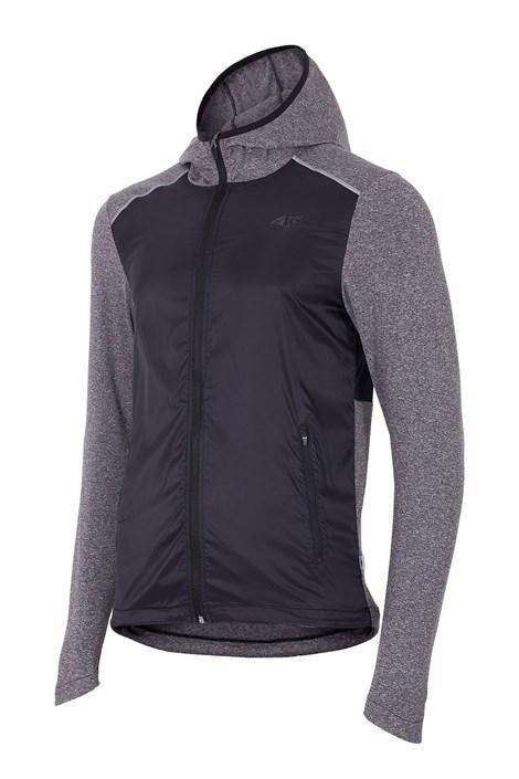 4F Pánská běžecká bunda 4f Grey šedivá S