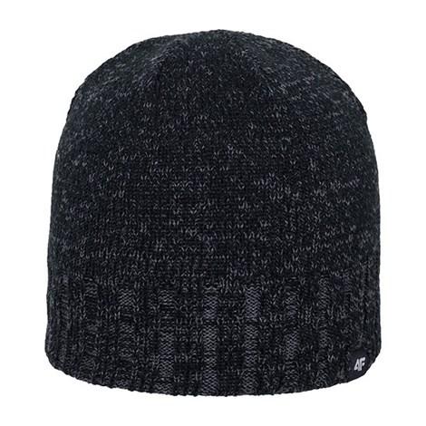 4F Pánská zimní čepice 4f Grey šedivá S/M