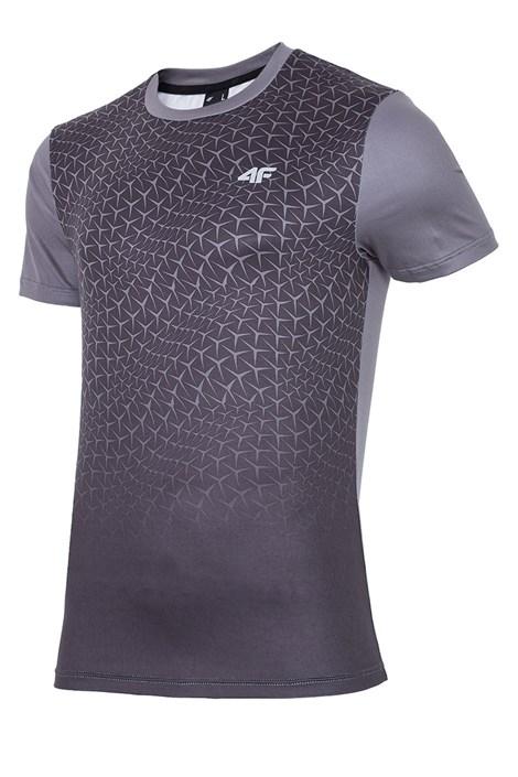 4F Pánské funkční tričko 4F Dry Control Dynamic Black černá XXL