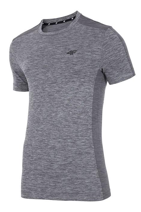 4F Pánské funkční tričko 4F Dry Control Melange šedivá L