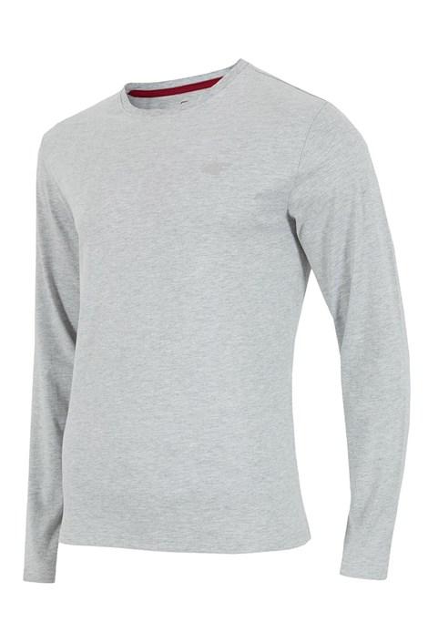 4F Pánské tričko 4F šedá dlouhý rukáv šedivá XXL