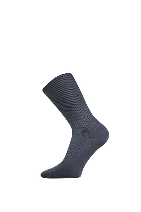 Lonka Ponožky Drava bavlněné šedá 43-45