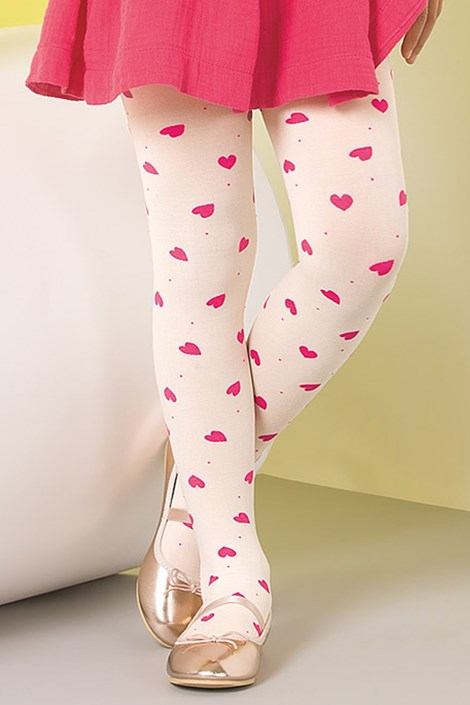 Gabriella Dívčí punčochové kalhoty Zuza růžová 150-158