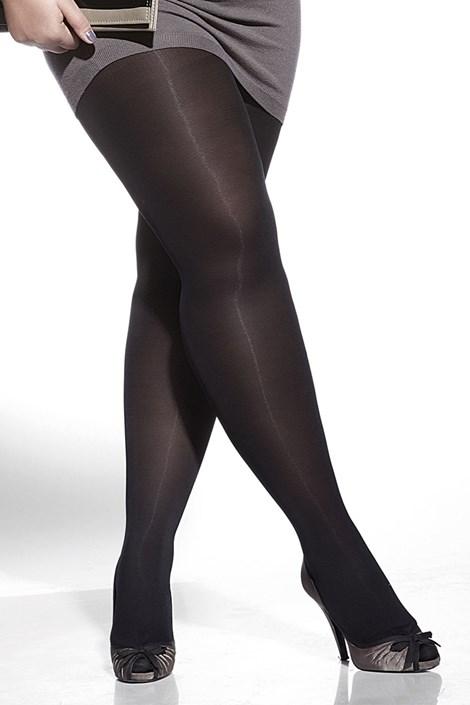 Adrian Punčochové kalhoty Amy plus size 60 DEN nero 8