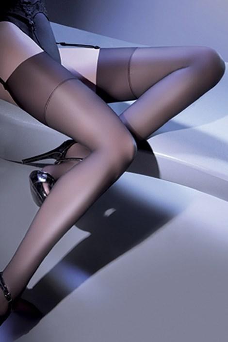 Punčochy na podvazkový pás Cher 15 DEN
