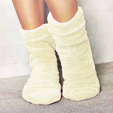 L -  L Ponožky Alice ecru 36-38