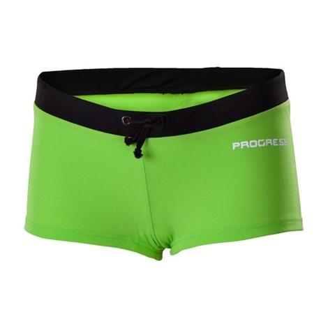 PROGRESS sportswear Dámské plavky Marina zelenočerné zelená 38