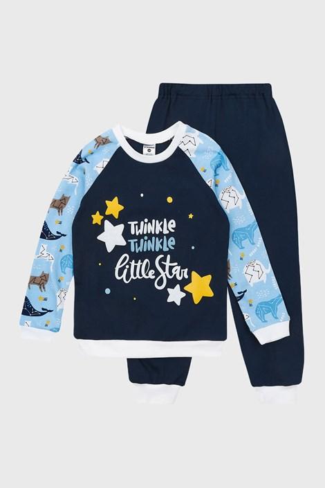 GARNA MAMA sp. z o.o. Chlapecké pyžamo Star Twinkle modrá 98