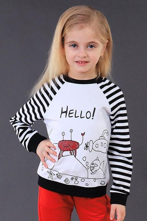 Dětská mikina Hello