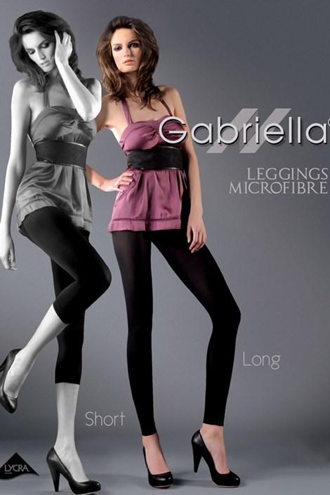 Gabriella Legíny Microfibre long 60DEN černá 1/2