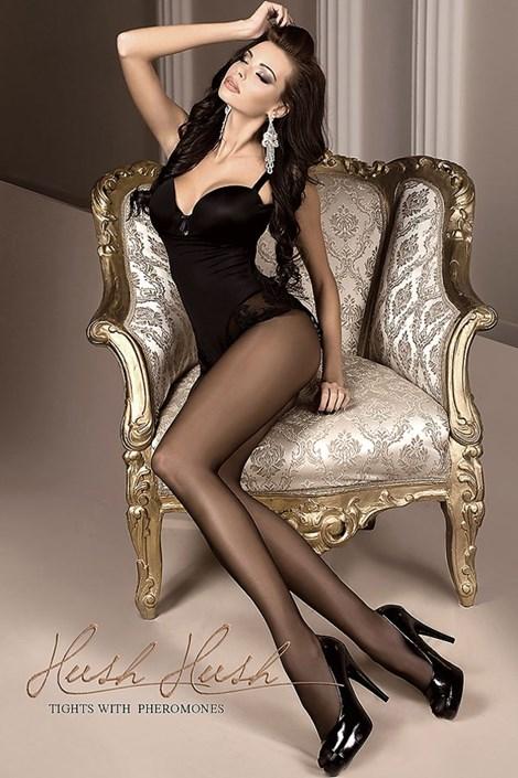 Ballerina Luxusní punčochové kalhoty 802 s feromony nero 4