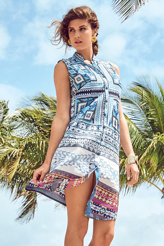 66683e0e8 Dámské italské košilové šaty David Beachwear Gujarat | Astratex.cz