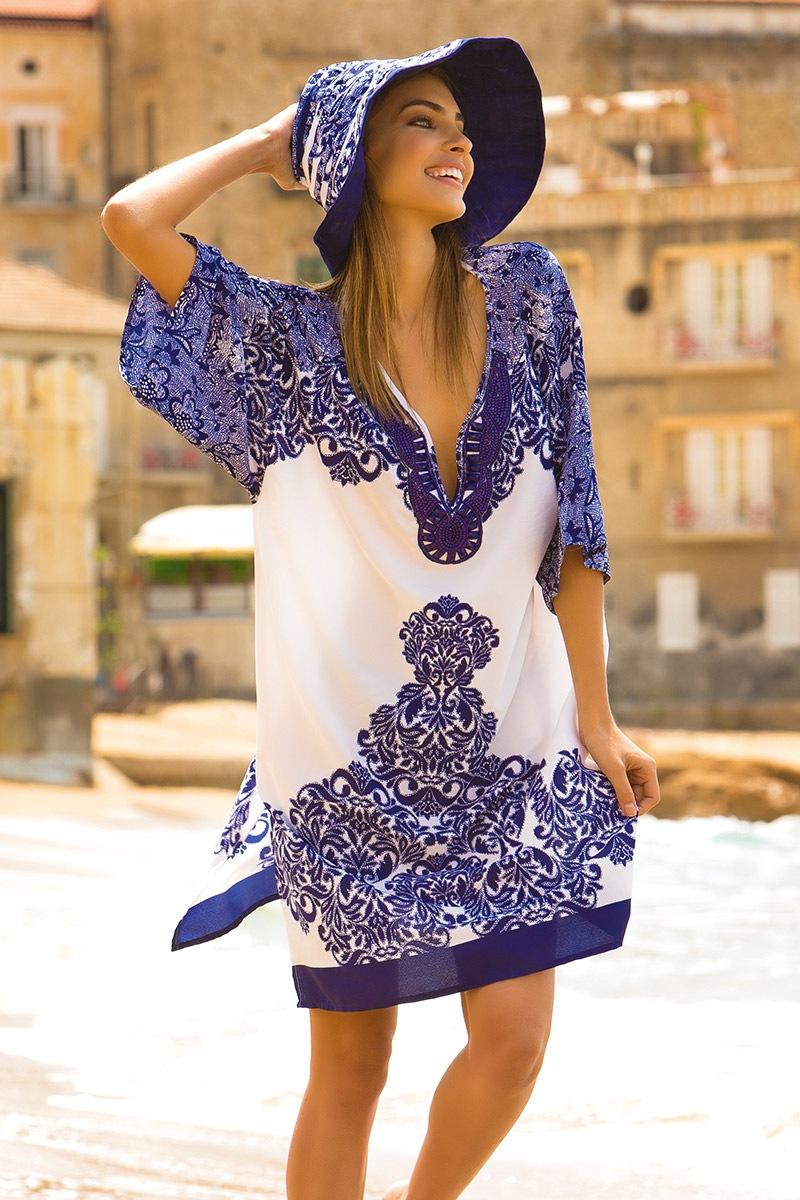 3d7fdff95d98 Dámské letní plážové šaty Irene