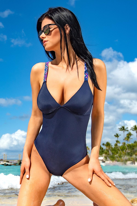 71b9e43186 Dámské jednodílné plavky Kamala Blue