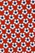 Dívčí legíny Mayoral Květiny červené 3732Popp_leg_03