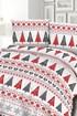 Flanelové povlečení Christmas Trees FNL8_2_DAR_01