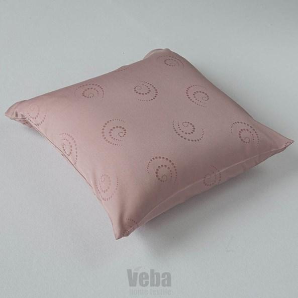 Poszewka na poduszeczkę Snail różowa