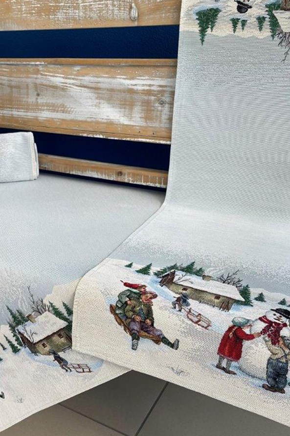 Gobelínový ubrus Winter holiday