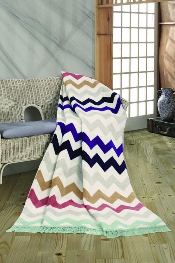 Luxusní bavlněná deka Funny