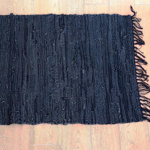 Kobereček Home Design z kůže černá