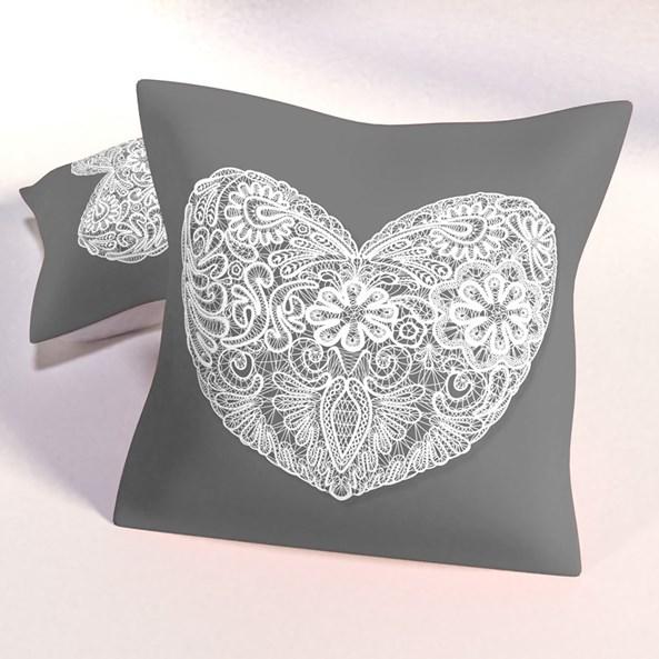 Dekorační polštář Hearts