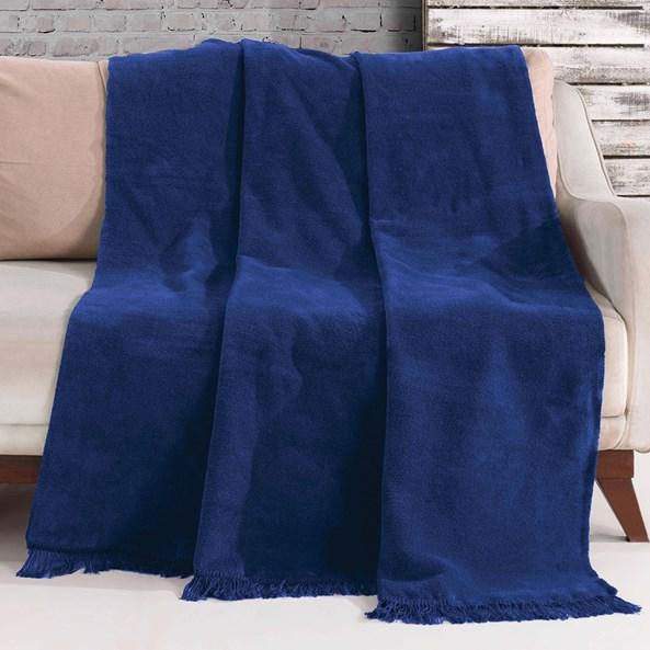 Deka Luxus Modrá