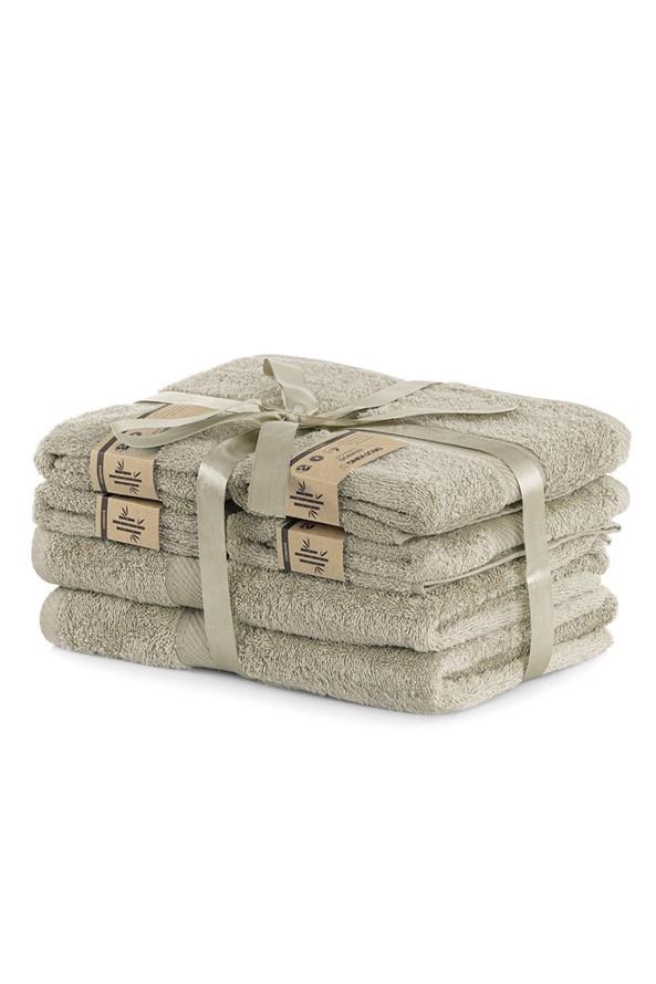 Set bambusových ručníků Bamby béžový