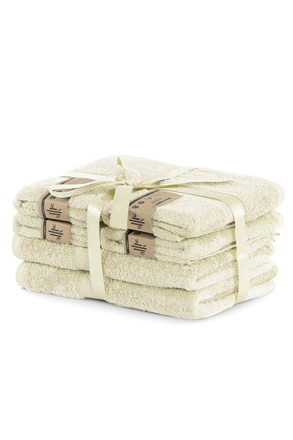 Set bambusových ručníků Bamby ecru