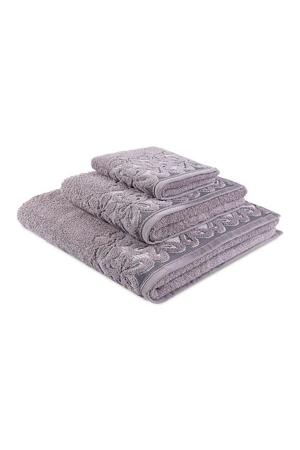 Dárková sada ručníků Bella šedá