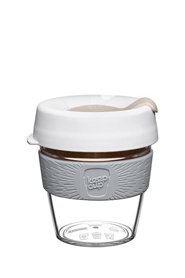 Kubek podróżny z tritanu Keepcup biały 227 ml