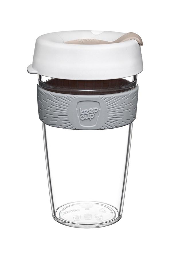 Cestovní hrnek Keepcup z Tritanu bílý 454 ml