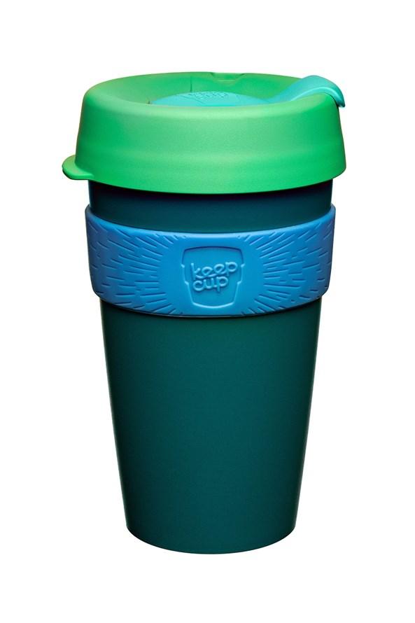Cestovní hrnek Keepcup zelený 454 ml