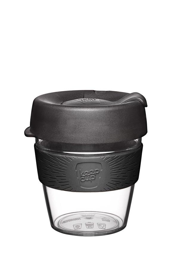 Cana Keepcup din plastic 227 ml, negru
