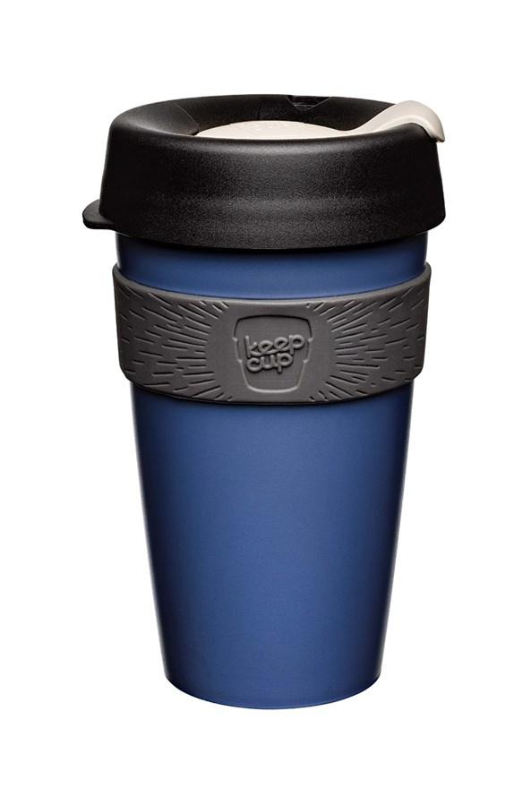 Kubek podróżny Keepcup niebieski 454 ml