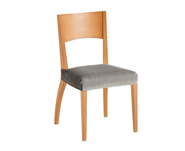 Sada 2 potahů na židli bíločerná