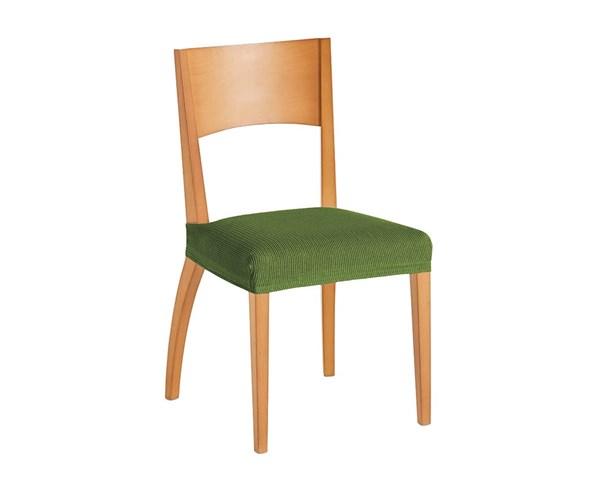 Sada 2 potahů na židli zelená